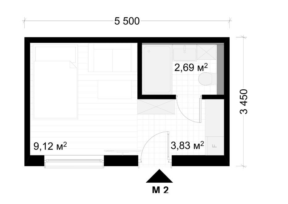 Deltamodul Modulbau C2 Grundriss 5