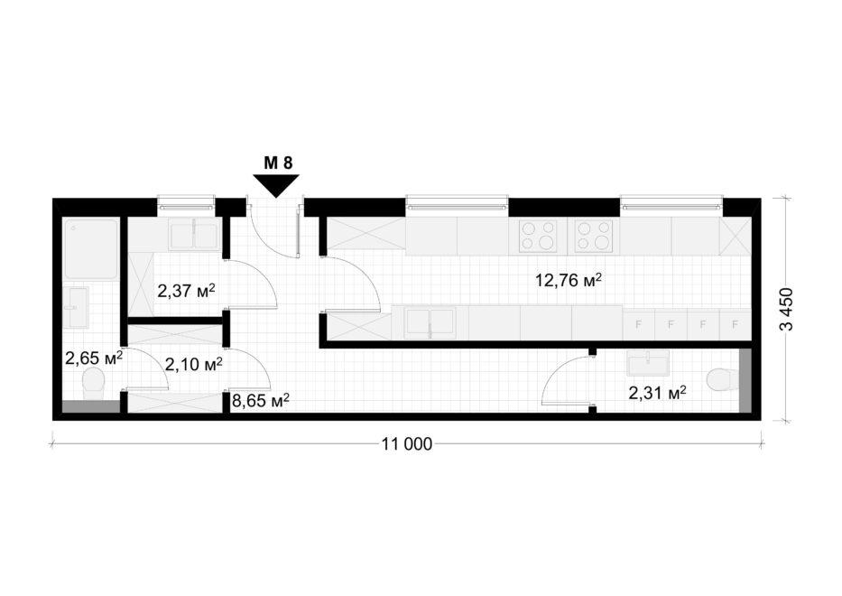 Deltamodul Modulbau C2 Grundriss 4