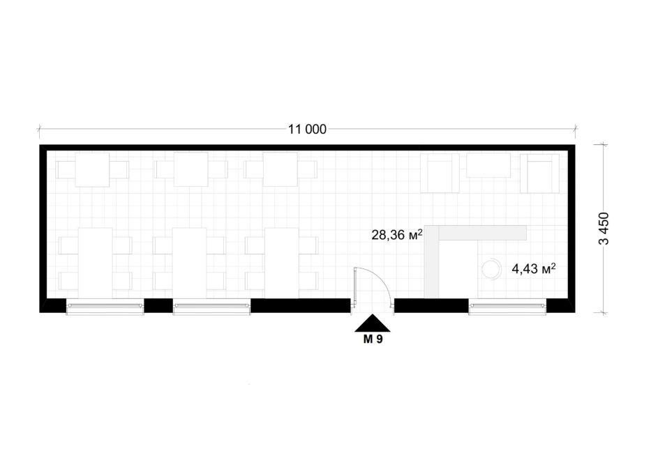 Deltamodul Modulbau C2 Grundriss 3